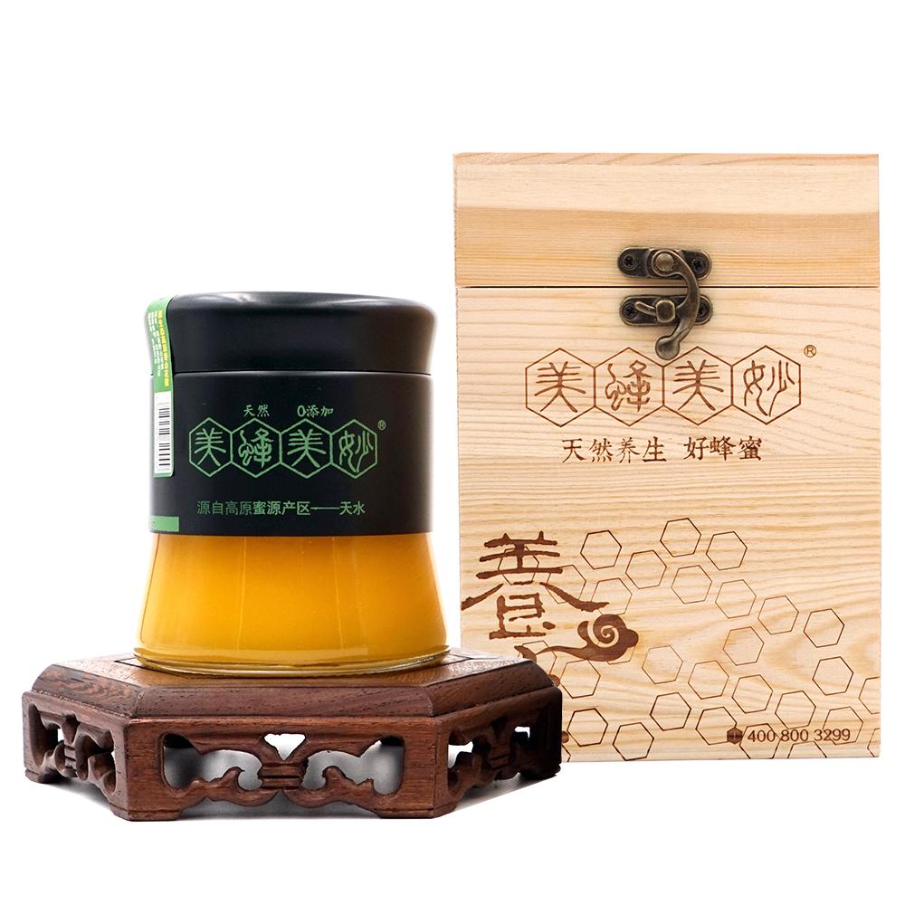 美蜂美妙高原野山花蜜礼盒