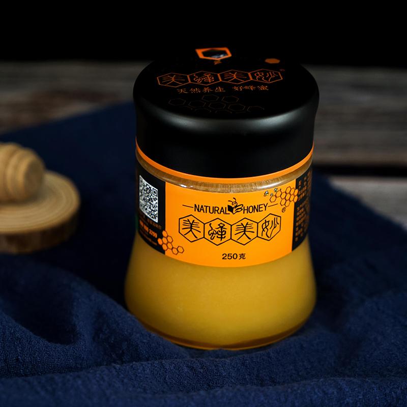 美蜂美妙高原野山花蜜250g
